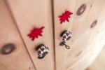 Kleiderschrank aus Zirbenholz